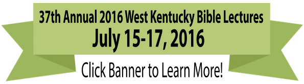 2016 37th Annual West Kentucky Bible Lectures